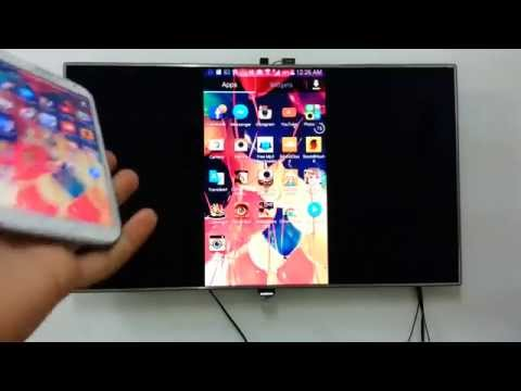 How to screen mirror your smart phone to smart tv
