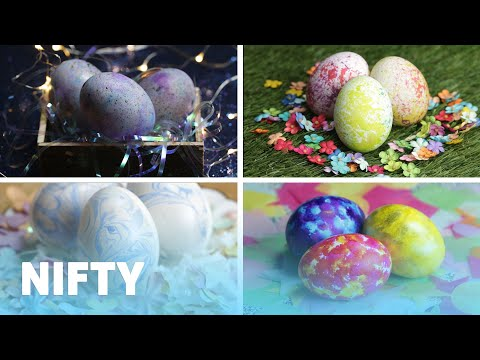 5 Creative Ways To Dye Eggs