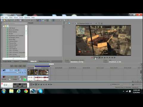 How To Change Video Format On Sony Vegas