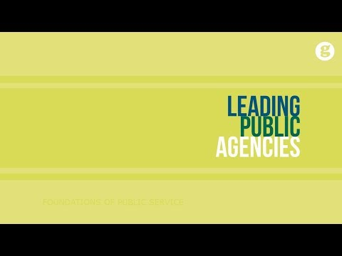 Leading Public Agencies