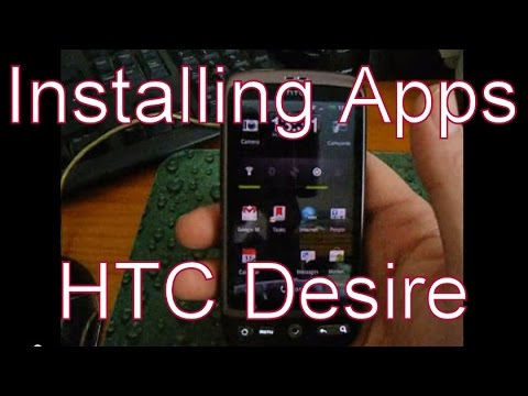 Installing Apps On The HTC Desire Google Android Smart-Phone