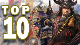 Top 10 Greatest Samurai Warriors