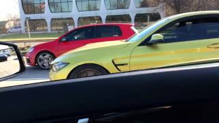 C63 vs m5 6spd pure turbos meth ms109 30psi Videos & Books