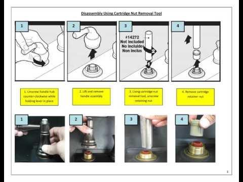 Moen Faucet - 2H Widespread Cartridge Replacement