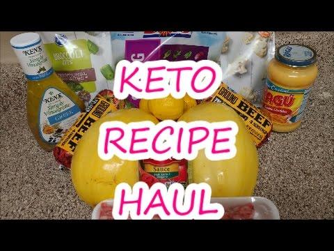 KETO GROCERY HAUL   KETO    RECIPE FOOD HAUL