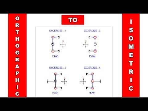 Orthographic to Isometric for Beginners   Piping Official
