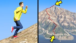 Which Route Is Fastest To The Top Mount Chiliad in GTA 5?