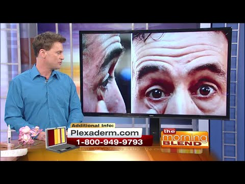 How To Get Rid Of Wrinkles, Eye Bags, and Crow's Feet with Plexaderm