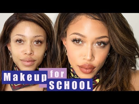 Drugstore Makeup for School • Jaleesa Moses