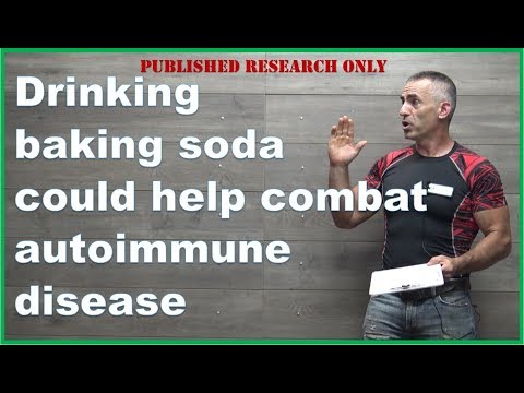 Drinking baking soda could help combat autoimmune disease
