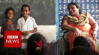 How a polio survivor is educating India