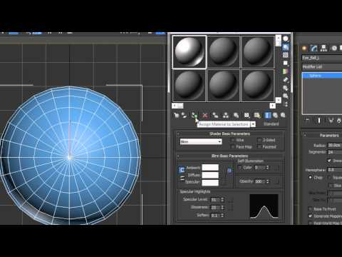 Creating & Controlling Simple Eyes in 3ds Max: 1 - Creating the Eyes & Materials