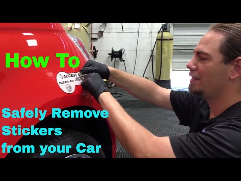 Sticker Removal -