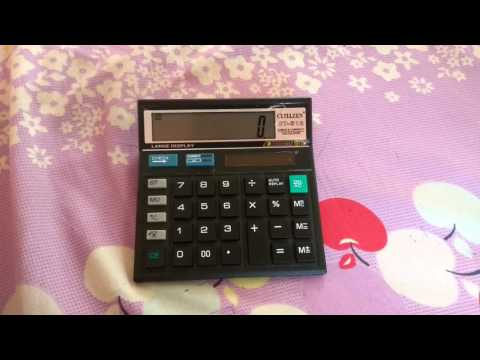 how to find antilog on simple calculator
