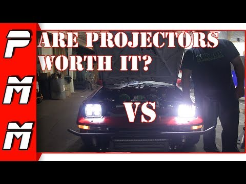 Are these the best LED projector headlights? 6x7 H6064 LED Projector Headlight Bulbs