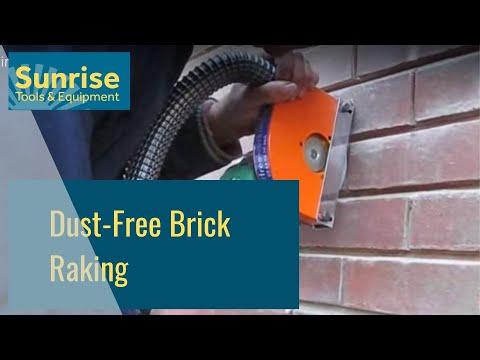 Dust Free Brick Raking