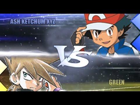 Pokemon Omega Ruby & Alpha Sapphire [ORAS]: XYZ Ash Vs Green (Pokemon Adventure)