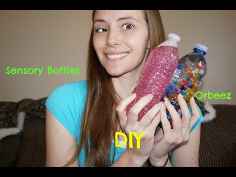 Sunday Fun Day | DIY Sensory Bottles | Earth Day Inspired Recycling Project