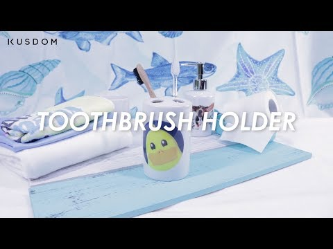 Toothbrush Holder - Design Your Own