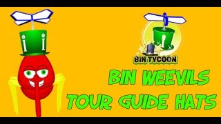 Bin Weevils - Tour Guide Hats