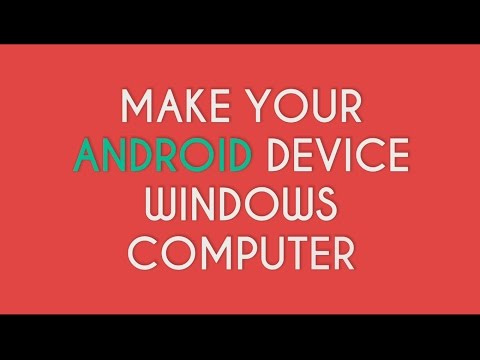 Convert Your Android Into PC | Use Your Android Phone Like PC | Explained in Hindi/English