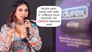 Bhumi Pednekar REACTS On Why Girl Ashamed To Ask C()ND()M From A Chemist