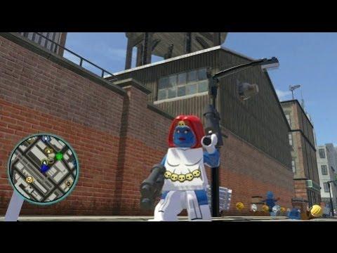 LEGO Marvel Super Heroes - Mystique Free Roam Gameplay