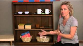 Montessori - At Home Set Up
