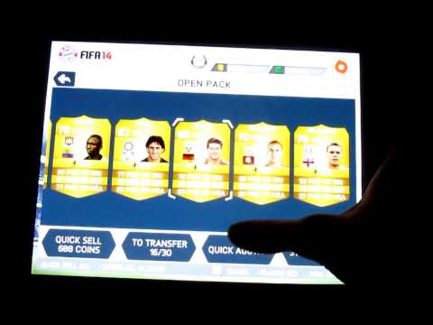 FIFA 14 IOS - 20,000 FIFA POINT PACK OPENING (WE GET A 95 RATED TOTS)!! LIVE REACTION!