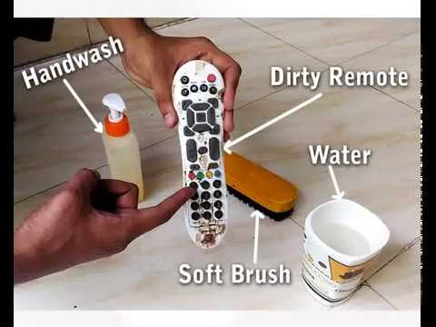How To clean Your Remote | Easy Trick