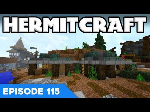 Hermitcraft V 115 | HOBBIT HOUSES! | A Minecraft Let's Play