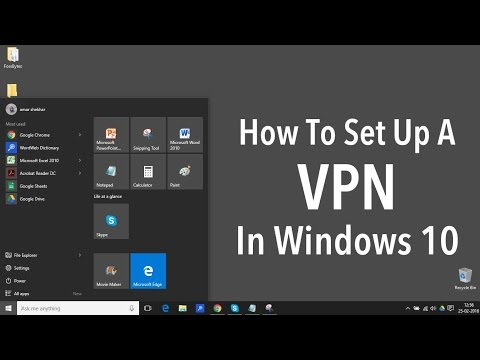 How to Setup VPN in Windows 8/8.1/10 - Hide Your IP Address