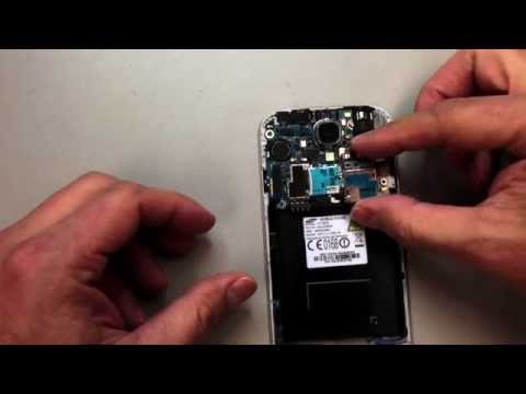 Galaxy S4 SIM and micro SD card reader replacement