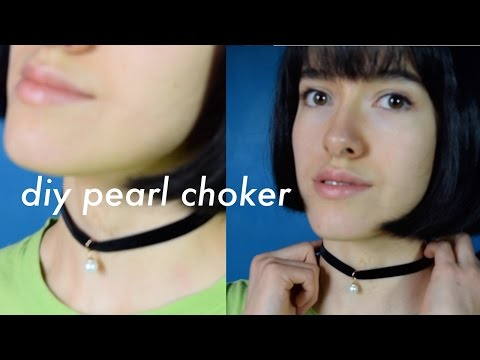 How To Make a Pearl Choker
