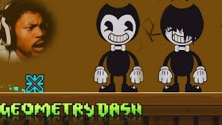 BENDY AND THE INK MACHINE LEVEL!? | Geometry Dash #22