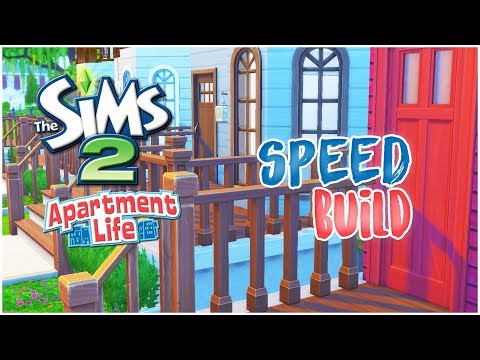 The sims 4 // Speed build // SIMS 2 APARTMENT LIFE!