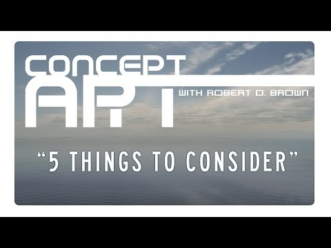 5 Things To Consider Before Becoming a Concept Artist. [Audio]