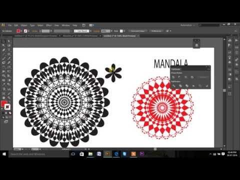 How To Make Mandala In Illustrator