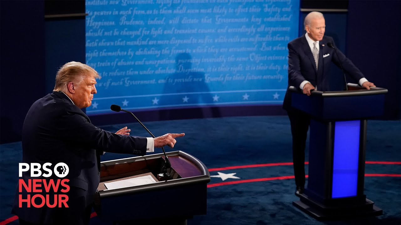 WATCH: Biggest moments of the first Trump-Biden debate in under 10 minutes