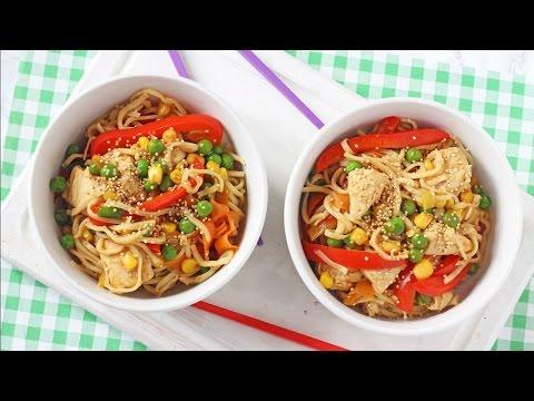 Sesame Honey Chicken Noodles | Easy Family Dinner Recipe