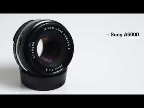 Nikon Series E 50mm Lens Video Test / Sample on Sony A6000