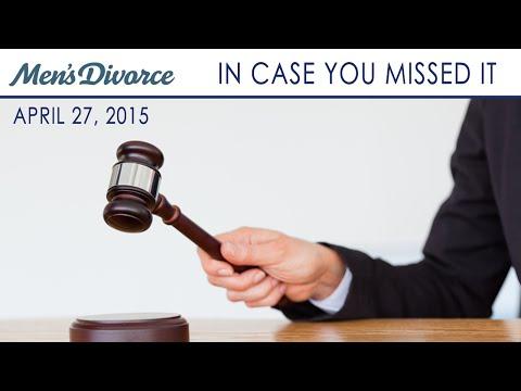 ICYMI - Obtaining Emergency Custody Of Your Children; Do I Qualify For Alimony As A SAHD?