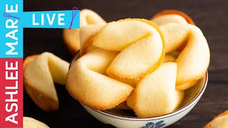 Homemade Fortune Cookies Recipe - LIVE