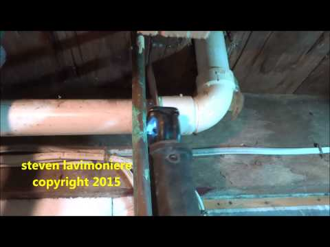 kitchen sink drain piping reworked :plumbing tips