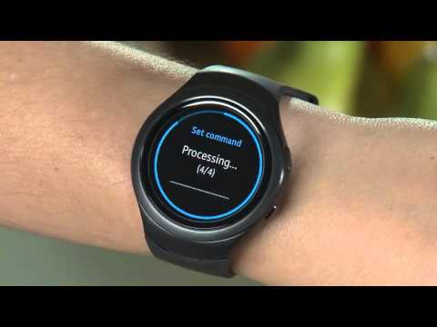 Samsung Gear S2 (SM-R720) - Using S-Voice Features