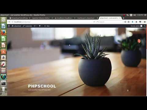 How to Install WordPress 4.8.1 On Ubuntu | PHP SCHOOL.