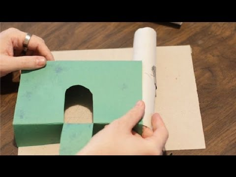 How to Build a Castle With Construction Paper & Toilet Paper : Paper Crafts