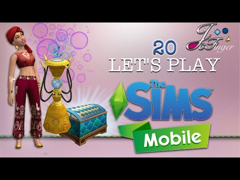 The Sims Mobile LET'S PLAY | PART 20 | OPENING ORNATE BOXES 🎁🔮⚗️🏺🏵👚👗⚱️💎💵💰