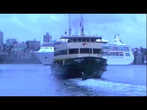 Manly 'Ferry Operating in Circular Quay