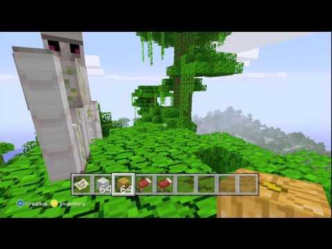 Minecraft Xbox 360 How To Make A Iron Golem